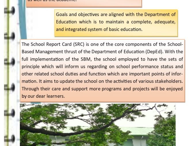 School Report Card  S.Y. 2017 to 2018  Page 1