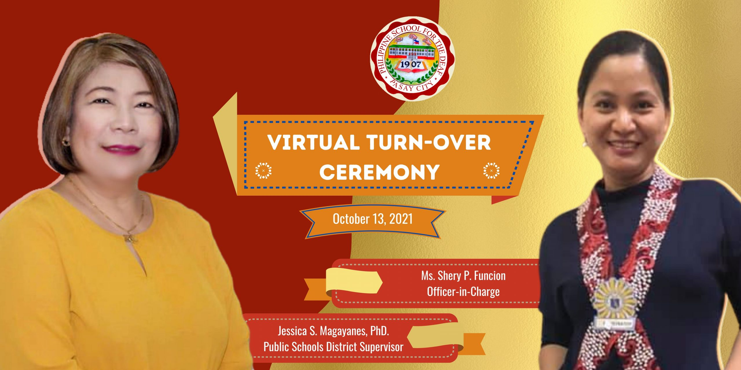 Virtual Turn-Over Ceremony